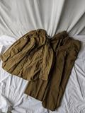WWII American Shirt, Size 16, and Pants, Approx. 34