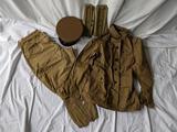 Pre-WWI Jacket, Pants, Leggings & 02 Officer's Hat