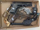 6 Toy Guns; Cap Guns; Etc.