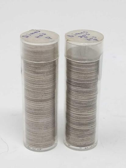 $10.00 Mercury Dimes