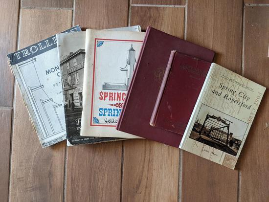 Local Interest Books Lot