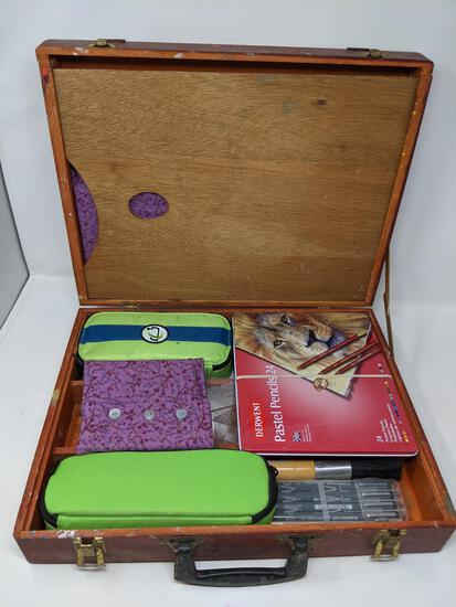 Artist's Box with Contents