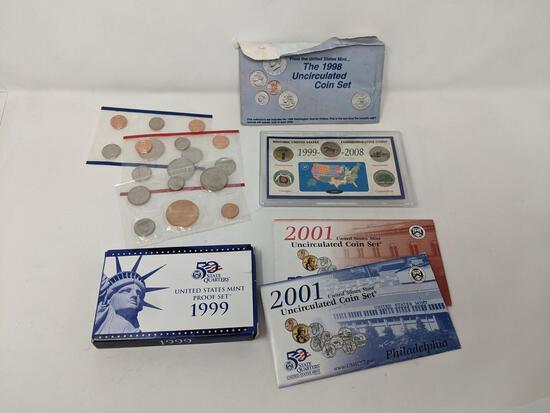 Proof Sets, Mint Sets, Souvenir Sets
