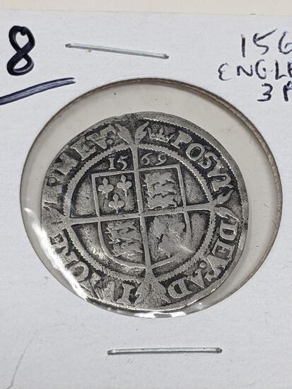 1569 England 3 Pence