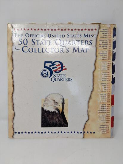 State Quarters Map