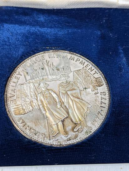 Valley Forge Encampment Sterling Proof 26.8 Grams