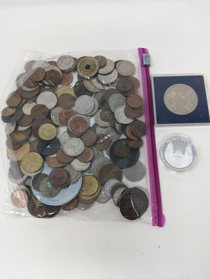 190 Foreign Coins