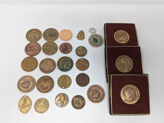 19 Bronze Medals, Etc.
