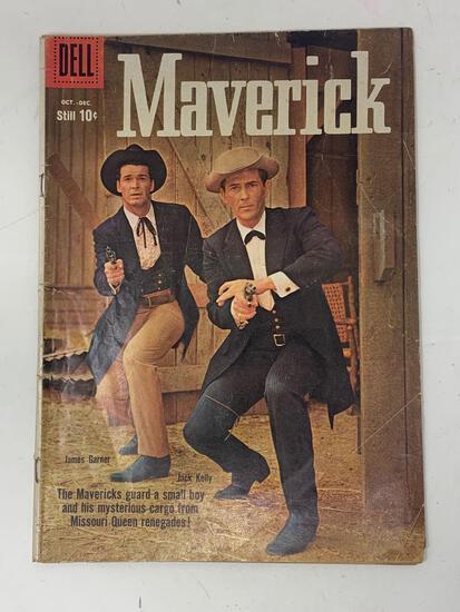 Maverick No. 7, Oct.-Dec. 1959 Comic Book