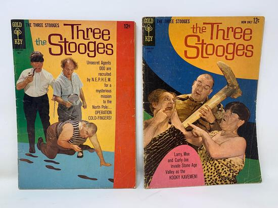 The Three Stooges Comic Books By K.K Publications