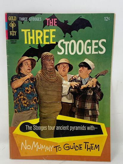 The Three Stooges Comic Book By K.K Publications