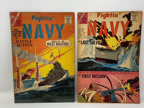 Fightin' Navy, Comic Books by Charlton Comics Group