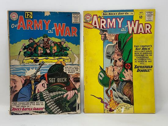 Our Army at War Comic Books by National Periodical Publications
