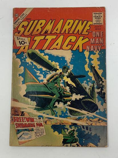 Submarine Attack, Vol. 2, No. 29, Aug. 1961 Comic Book