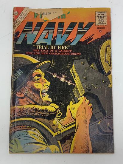 Fightin' Navy, Vol. 12, No. 95, Nov. 1960 Comic Book