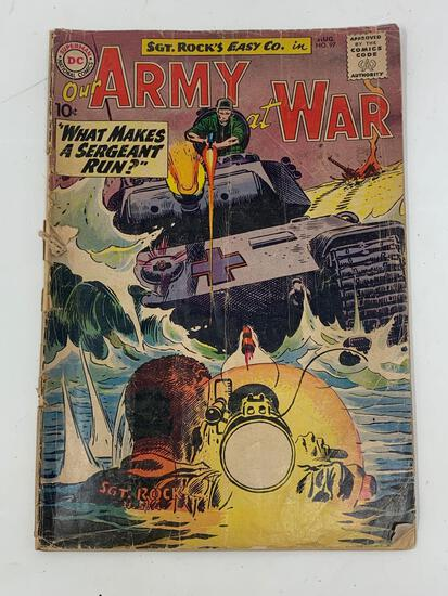 Our Amy At War, No. 97, Aug. 1960 Comic Book