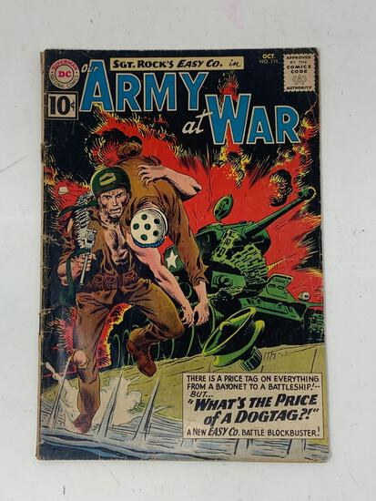 Our Amy At War, No. 111, Oct. 1961 Comic Book
