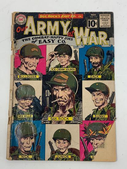 Our Amy At War, No. 112, Nov. 1961 Comic Book