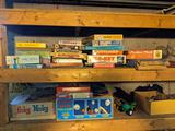 Vintage Board and Other Games
