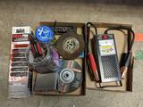Battery Tester, Fire Extinguisher, Hardware, Screw Driver Bits, etc.