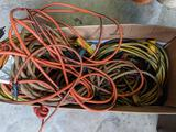 Grouping of Extension Cords