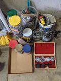 Paint Sprayer, Hardware, Markers, Sanding Bits, Drill Bits, Screws