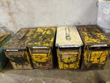 4 Metal Ammunition Boxes and Contents