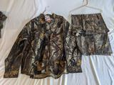 Camouflage Hunting Shirt and Pants