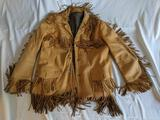 Buckskin Fringed Jacket