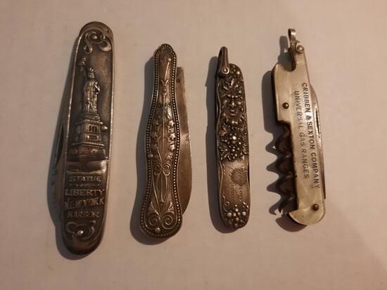 Lady's Fruit Knives & Pocket Knives
