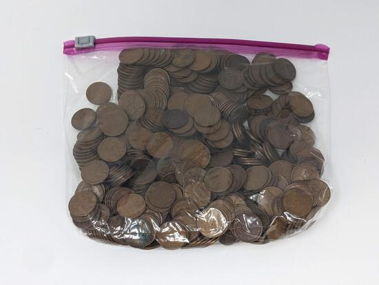 500+ Wheat Cents