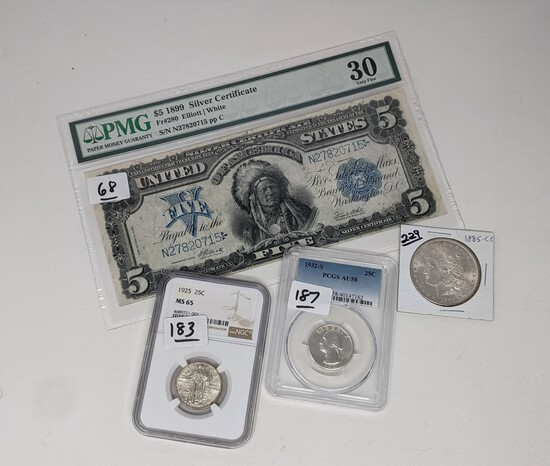 Coins & Currency (21-5)