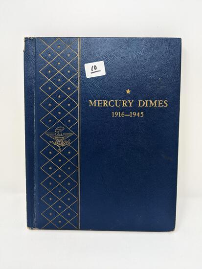 Mercury Dimes 1924-45S Complete, G-AU