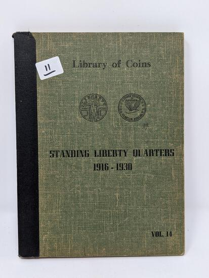 Standing Liberty Quarters 1925-30-S, Complete