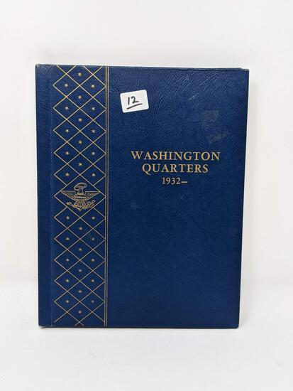 Washington Quarters 1932-63, Missing 1932-D & S (79 Pcs.)