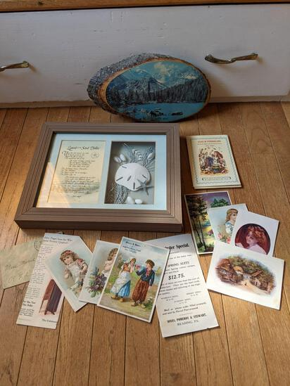 Legend of the Sand Dollar Framed Piece, Wall Art, Booklets & Advertising Pieces