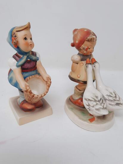 2 Hummels- Little Helper, 73; Goose Girl, 47 3/0