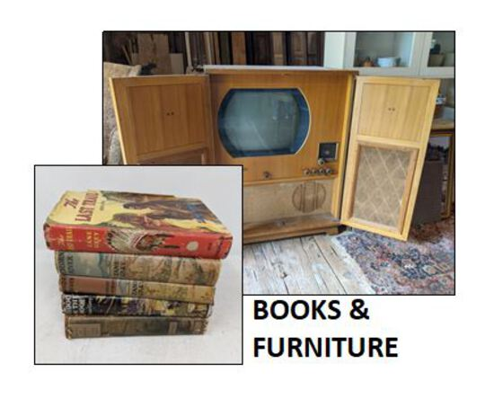 Furniture & Books-Spring City PA Online Only