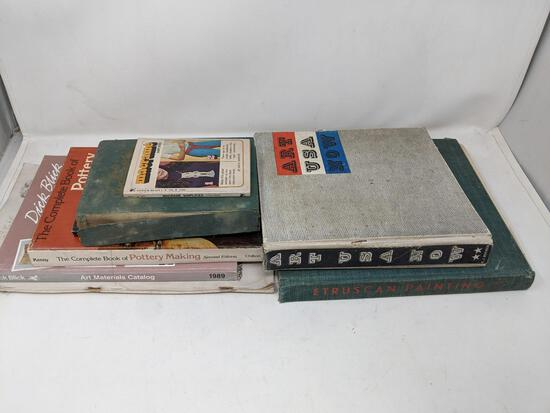 Art, Pottery and Related Books