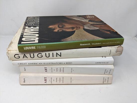 5 Art Related Books