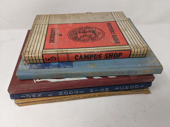 High School Yearbooks- 1976, 77, 78 & 79