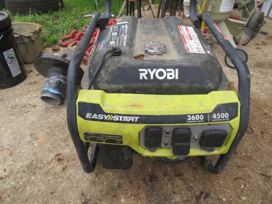 Ryobi Generator 4500 watts