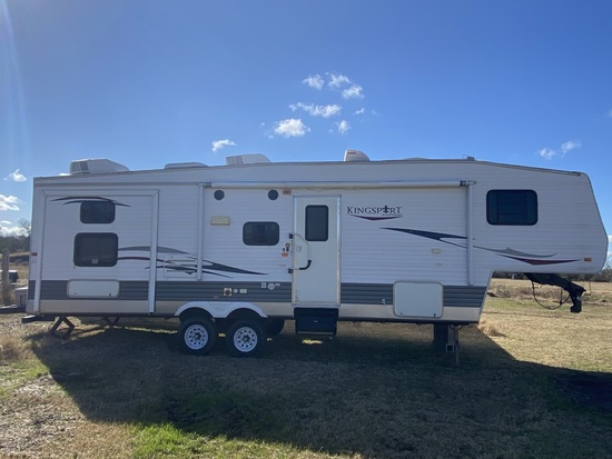 NOT SOLD 2009 Kingsport RV Trailer