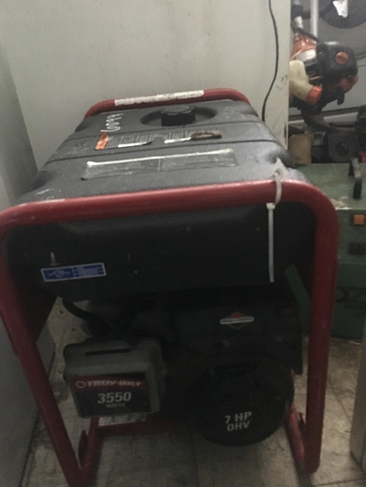 NOT SOLD Generator TroyBuilt 3550