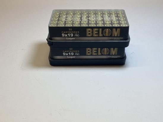 Belom 9MM Ammo