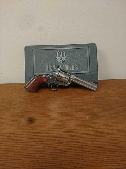 Ruger Blackhawk 45cal stainless single action