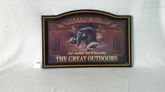 Welcome To The Great Outdoors Picture