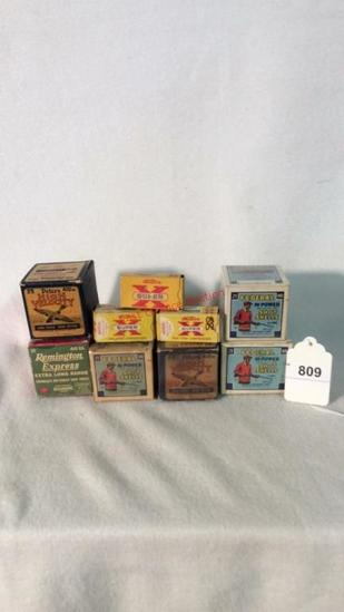 Antique Ammo Boxes Only