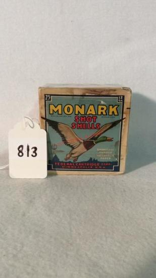 Monark  Federal Shot Shells Full Box 12ga