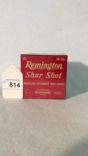Remington Shur Shot  Full Box 16ga